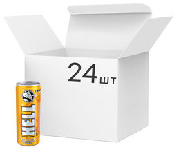 Упаковка энергетического напитка Hell Mangosteen Pomelo 0.25 л х 24 банки (5999885746217) от Rozetka