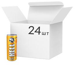 Акция на Упаковка энергетического напитка Hell Mangosteen Pomelo 0.25 л х 24 банки (5999885746217) от Rozetka