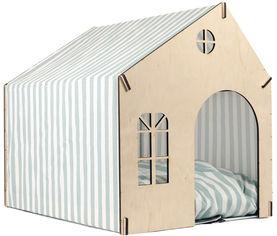 Акция на Домик-лежак Фортнокс FX Home для котов и собак 50х40х46 см каркасный с мягкой подушкой Мятный (2820000011756) от Rozetka