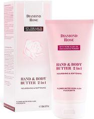 Акция на Питательное масло для рук и тела BioFresh 2 в 1 Diamond Rose 150 мл (3800156004030) от Rozetka