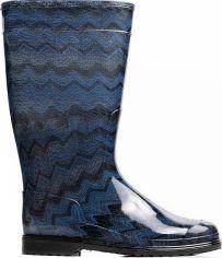 Резиновые сапоги OLDCOM Rainy Jazz 39/40 Синие (4841347043994) от Rozetka