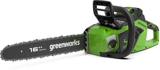 Акция на Аккумуляторная цепная пила Greenworks GD40CS18 (2005807) от Rozetka