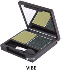 Тени для век Zuii Organic Duo Eyeshadow Palette 3.5 г Vibe (812144011718) от Rozetka