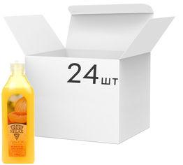 Упаковка крем-геля для душа Relax Сочная дыня с увлажняющим молочком 250 мл х 24 шт (4820174691677_1) от Rozetka