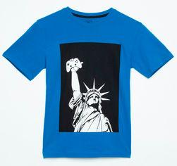 Футболка Reporter Young 201-0440B-39-470-1-D 146 см Голубо-синяя (5900703646459) от Rozetka