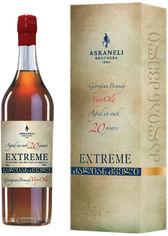 Коньяк Асканели Family Collection Extreme Very Old 20 лет выдержки 0.5 л 40% (4860053014494) от Rozetka