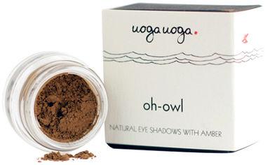 Натуральные тени для век Uoga Uoga Oh-Owl №713 с янтарем 1 г (47727953) от Rozetka