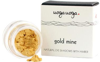 Натуральные тени для век Uoga Uoga Gold Mine №741 с янтарем 1 г (47728059) от Rozetka