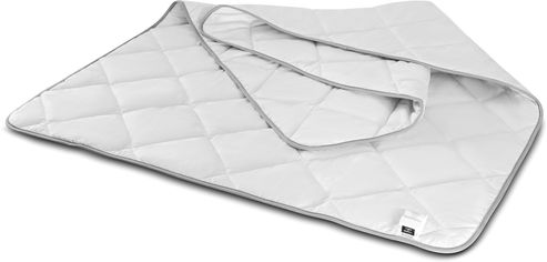 Акция на Одеяло хлопковое MirSon №1412 Bianco Демисезонное 200x220 см (2200001536463) от Rozetka