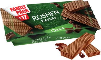 Упаковка вафель Roshen Wafers Шоколад 216 г х 11 шт (4823077625619) от Rozetka