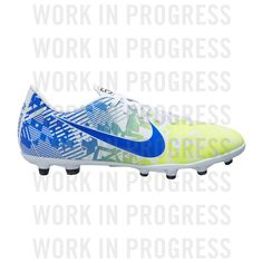 Nike Vapor13 NJR FG/MG 99 White/Blue от SportsTerritory