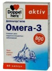 Акция на Doppelherz Aktiv Omega-3 80 caps (DOP-52545) от Stylus