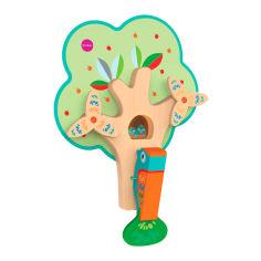 Акция на Настенная игрушка Oribel Veritiplay Занятый дятел (OR802-90001) от Будинок іграшок