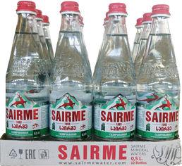 Упаковка минеральной газированной воды Sairme 0.5 л х 12 бутылок (4860001590124) от Rozetka