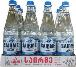 Упаковка родниковой негазированной воды Sairme 0.5 л х 12 бутылок (4860001590131) от Rozetka