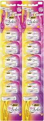Набор бритв без сменных картриджей BIC Miss Soleil Colour Collection 10 шт (3086123399464) от Rozetka