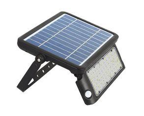 Светильник уличный LED Solar V-TAC SKU-8550, 10W, DC, 4000К, датчик движения, 3000mAh, черный (3800157639224) от MOYO
