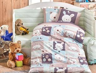 Акция на Постельное белье в кроватку Hobby Snoopy мятное Детский комплект от Podushka