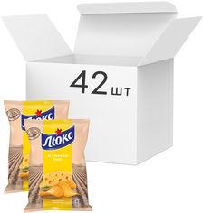 Упаковка чипсов Люкс со вкусом сыра 71 г x 42 шт (7622210234704) от Rozetka