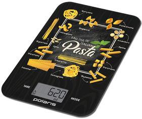 Акция на Весы кухонные Polaris PKS 1054DG Pasta от Rozetka