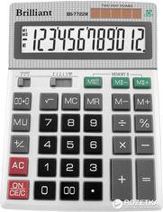 Акция на Калькулятор электронный Brilliant BS-7722M от Rozetka