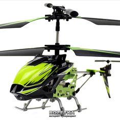 Акция на Вертолёт 3-канальный на и/к управлении WL Toys S929 Green с автопилотом (WL-S929g) (2711912271997) от Rozetka