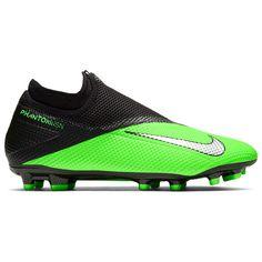 Nike Черные Vision Academy DF FG Футбольные Бутсы Зеленые/Черные от SportsTerritory