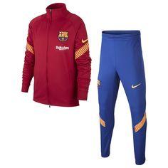 Nike Barcelona Strike Big Детский' Soccer Спортивный Костюм NOBLE Красный/NOBLE Красный/AMARILLO/A от SportsTerritory