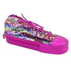 Акция на Пенал мягкий Yes TP-24 ''Sneakers with sequins'' rainbow (532722) от Stylus