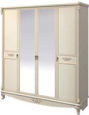 Шкаф для одежды Aqua Rodos Версаль Слоновая кость (VELWARD4D-BEIGE) от Rozetka