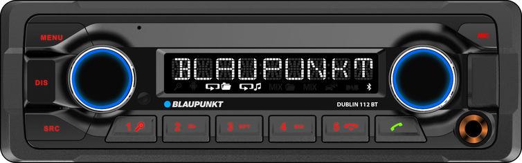Автомагнитола Blaupunkt Dublin 112 BT (00000000881) от Rozetka