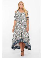 Платье VLAVI Тропикана 120609 52 Белое от Rozetka