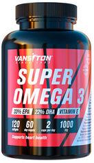 Акция на Жирные кислоты Vansiton SUPER OMEGA 3 120 капсул (4820106591990) от Rozetka