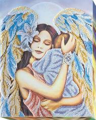 Набор для вышивки бисером Абрис Арт на натуральном художественном холсте Радость материнства (AB-446) от Rozetka