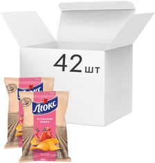 Упаковка чипсов Люкс со вкусом краба 71 г x 42 шт (7622210234759) от Rozetka