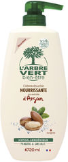 Крем-гель для душа L'Arbre Vert питательный с экстрактом арганы 720 мл (3450601032257) от Rozetka