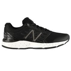 New Balance 680v5 Мужские Кроссовки для Бега Черные/Белые от SportsTerritory