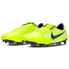 Nike Черные Желтые Elite Мужские FG Футбольные Бутсы Ярко-желтые/Синие от SportsTerritory