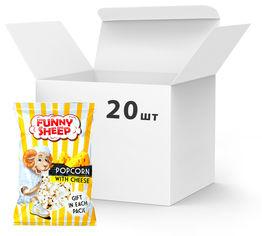 Упаковка попкорна Funny Sheep с сыром 90 г х 20 шт (24820196720031) от Rozetka