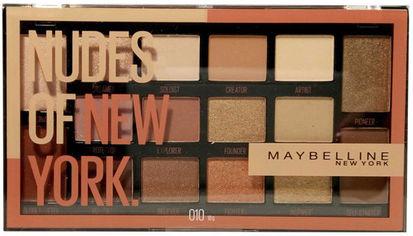 Палетка теней для век Maybelline New York Nudes of New York 16 оттенков 18 г (3600531592974) от Rozetka