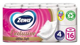 Туалетная бумага Zewa Ultra Soft четырехслойная 16 рулонов (7322541188812) от Rozetka