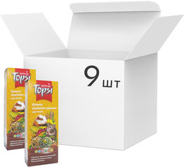Упаковка корма для грызунов Topsi Колобки орехово-овощные 140 г 9 шт (14820122208718) от Rozetka