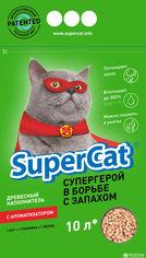 Упаковка древесных наполнителей SuperCat С Ароматизатором для котов, 3 кг 5 шт (5х5 л) (14820082490222) от Rozetka