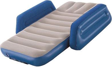 Матрас надувной Bestway велюр 76 х 145 х 18 см Синий (BW 67602) от Rozetka