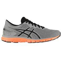 Asics Gel Zaraca 5 Мужские Кроссовки для Бега Aluminum/Черные от SportsTerritory