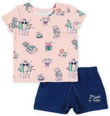 Акция на Комплект (футболка + лосины) Фламинго 043-421 116 см Розовый (ROZ6400011138) от Rozetka