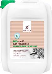 Акция на Эко средство для мытья сантехники и кафеля TORTILLA 4.7 л (4820178062404) от Rozetka