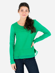 Акция на Блузка Tom Tailor tom06110033 S Зеленая (SHEK2000000441856) от Rozetka