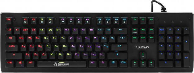 Клавиатура проводная Marvo KG909 Multi-LED Mechanical Blue Switch USB от Rozetka
