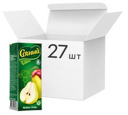 Упаковка нектара Сочный фрукт Яблоко-груша 0.2 л х 27 шт (4813538003988) от Rozetka
